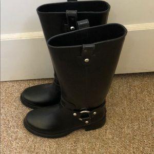 🌧⚡️Michael Kors Harness Rain Boots